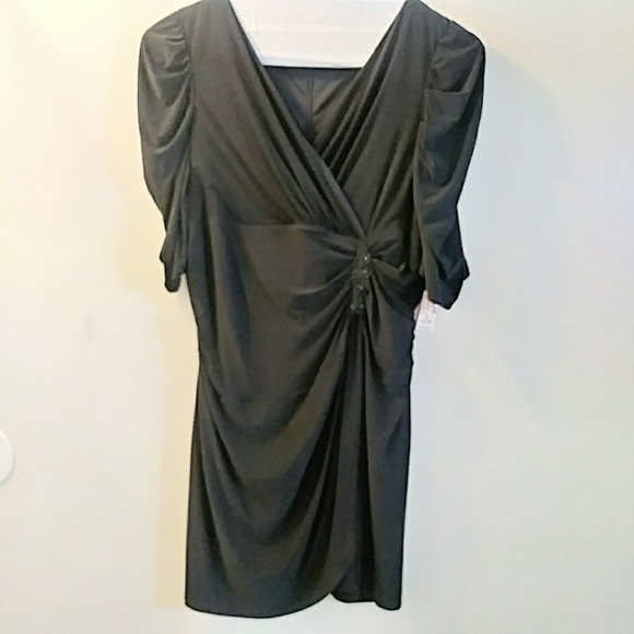 Dress Barn collection plus size 24 black dress NWT